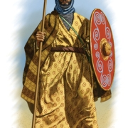 Arab warrior, seventh century AD