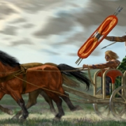 British Celtic War Chariot 50 BC