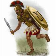 Greek Mercenary in the army of Darius III