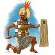 Inca Warrior with ax