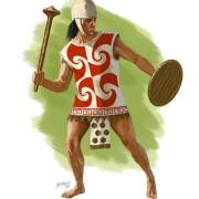 Inca Warrior with club