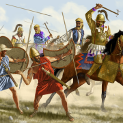 The Battle of Cunaxa, 401 BC