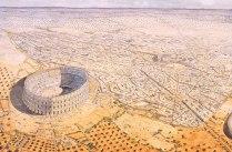 afrique-tunisie-el-jem-thysdrus-vue-generale