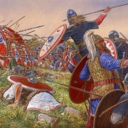 Batalla de Estrasburgo - Argentoratum 357 dC Juliano el Apostata vence a los alamanes