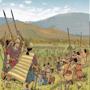 Neolithic battle in the Swiss Alps region